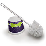 Pawprints & Bones Toilet Brush (Personalized)