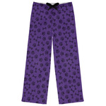 Pawprints & Bones Womens Pajama Pants (Personalized)