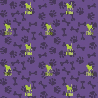 Pawprints & Bones Wrapping Paper (Personalized)