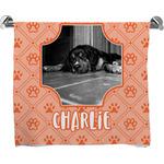 Pet Photo Full Print Bath Towel (Personalized)