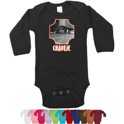 Pet Photo Bodysuit - Long Sleeves - 12-18 months (Personalized)