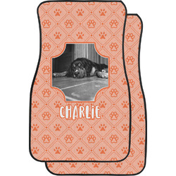 Pet Photo Car Floor Mats (Front Seat) (Personalized)