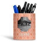 Pet Photo Ceramic Pen Holder