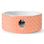Pet Photo Ceramic Pet Bowl (Personalized)