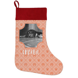 Pet Photo Holiday Stocking