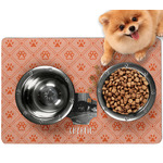 Pet Photo Dog Food Mat - Small