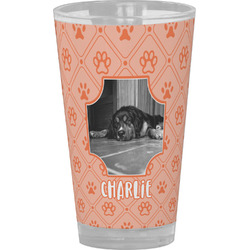 Pet Photo Drinking / Pint Glass (Personalized)