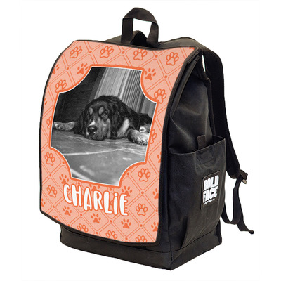 Pet Photo Backpack w/ Front Flap  (Personalized)
