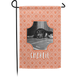 Pet Photo Single Sided Garden Flag With Pole (Personalized)