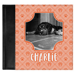 Pet Photo Genuine Leather Baby Memory Book (Personalized)