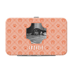 Pet Photo Genuine Leather Small Framed Wallet (Personalized)