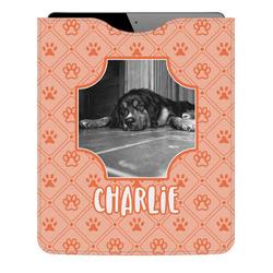 Pet Photo Genuine Leather iPad Sleeve (Personalized)