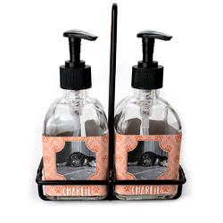 Pet Photo Soap & Lotion Dispenser Set (Glass) (Personalized)