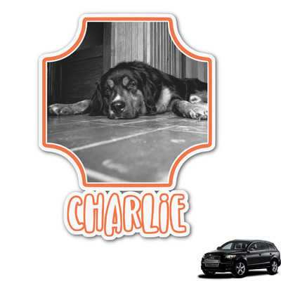 Pet Photo Graphic Car Decal (Personalized)