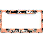 Pet Photo License Plate Frame (Personalized)