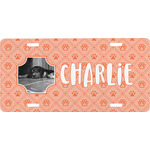 Pet Photo Front License Plate (Personalized)