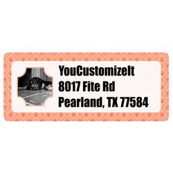 Pet Photo Return Address Labels (Personalized)