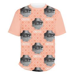 Pet Photo Men's Crew T-Shirt (Personalized)