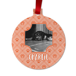 Pet Photo Metal Ornaments - Double Sided
