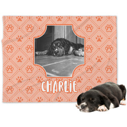 Pet Photo Minky Dog Blanket (Personalized)