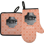 Pet Photo Oven Mitt & Pot Holder (Personalized)