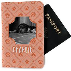 Pet Photo Passport Holder - Fabric (Personalized)