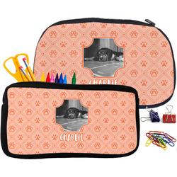 Pet Photo Pencil / School Supplies Bag (Personalized)