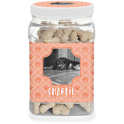 Pet Photo Dog Treat Jar (Personalized)