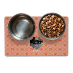 Pet Photo Pet Bowl Mat (Personalized)