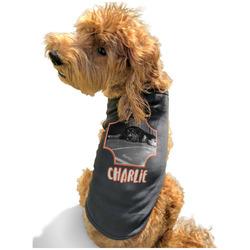 Pet Photo Black Pet Shirt - Multiple Sizes (Personalized)