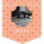 Pet Photo Iron On Faux Pocket (Personalized)