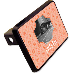 """Pet Photo Rectangular Trailer Hitch Cover - 2"""" (Personalized)"""