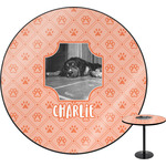 Pet Photo Round Table (Personalized)