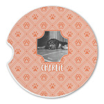 Pet Photo Sandstone Car Coasters (Personalized)