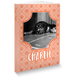 """Pet Photo Softbound Notebook - 7.25"""" x 10"""" (Personalized)"""