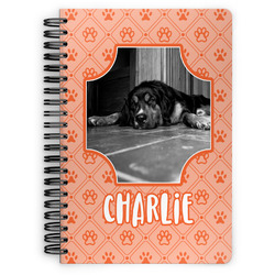 Pet Photo Spiral Bound Notebook (Personalized)