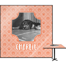 Pet Photo Square Table Top (Personalized)
