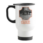Pet Photo Stainless Steel Travel Mug with Handle