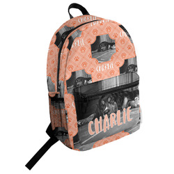 Pet Photo Student Backpack (Personalized)