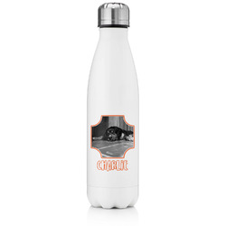 Pet Photo Tapered Water Bottle - 17 oz. - Stainless Steel (Personalized)