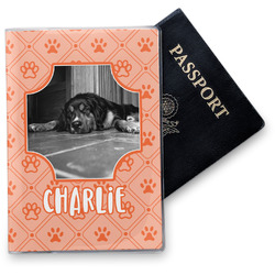 Pet Photo Vinyl Passport Holder (Personalized)