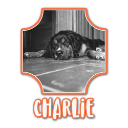Pet Photo Graphic Decal - Custom Sizes (Personalized)