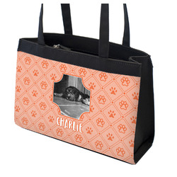 Pet Photo Zippered Everyday Tote (Personalized)