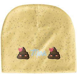 Poop Emoji Baby Hat (Beanie) (Personalized)