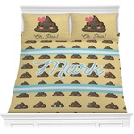 Poop Emoji Comforters (Personalized)