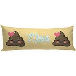 Poop Emoji Body Pillow Case (Personalized)