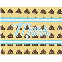 Poop Emoji Placemat (Fabric) (Personalized)