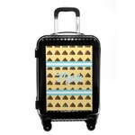 Poop Emoji Carry On Hard Shell Suitcase (Personalized)