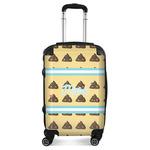 Poop Emoji Suitcase (Personalized)