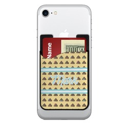 Poop Emoji Cell Phone Credit Card Holder (Personalized)